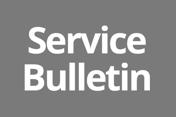 service-bulletin